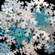 Value Pack 50g Snowflake Sequin Mix.